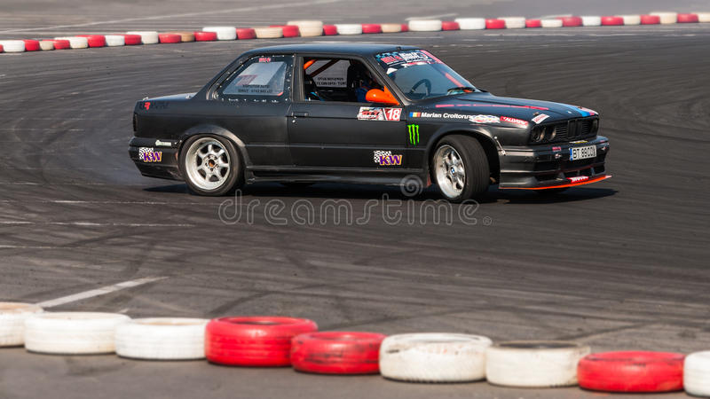 Download Old BMW Drift Car At Championship Editorial Stock Image - Image: 26326749