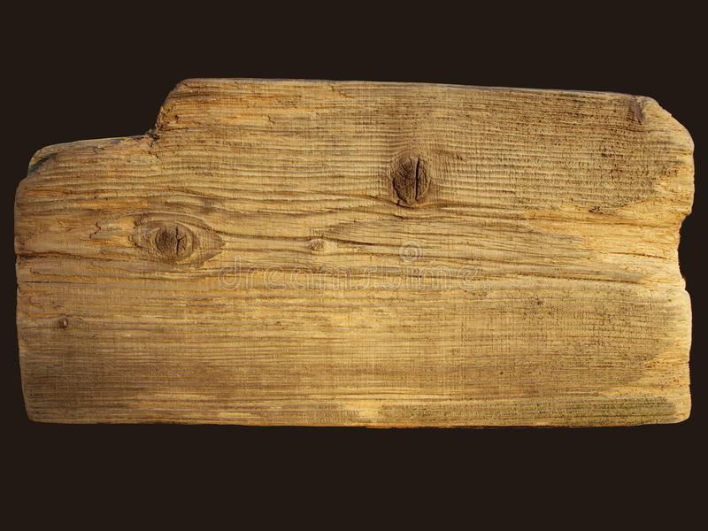 Piece of antique wood royalty free stock photo