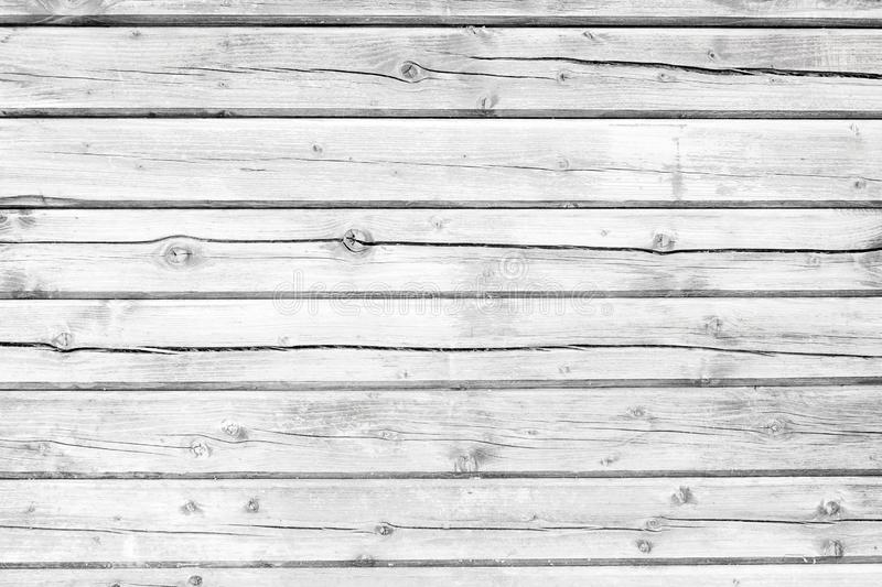 Old Board painted with white paint. White wood texture, background.  royalty free stock photography