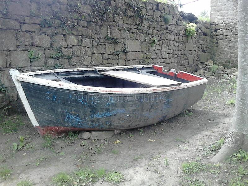 Download Old Boat stock image. Image of take, nrbrittany, boat - 43724645