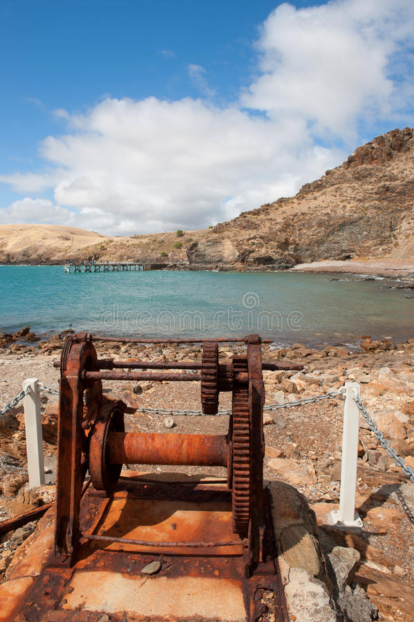 Download Old Boat Winch stock image. Image of south, peninsula - 31100065