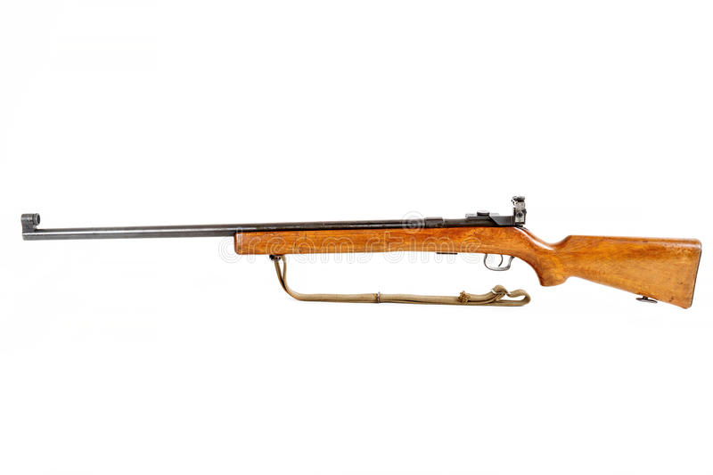 Download Old Bolt Action Rifle Isolated Stock Image - Image: 39742647