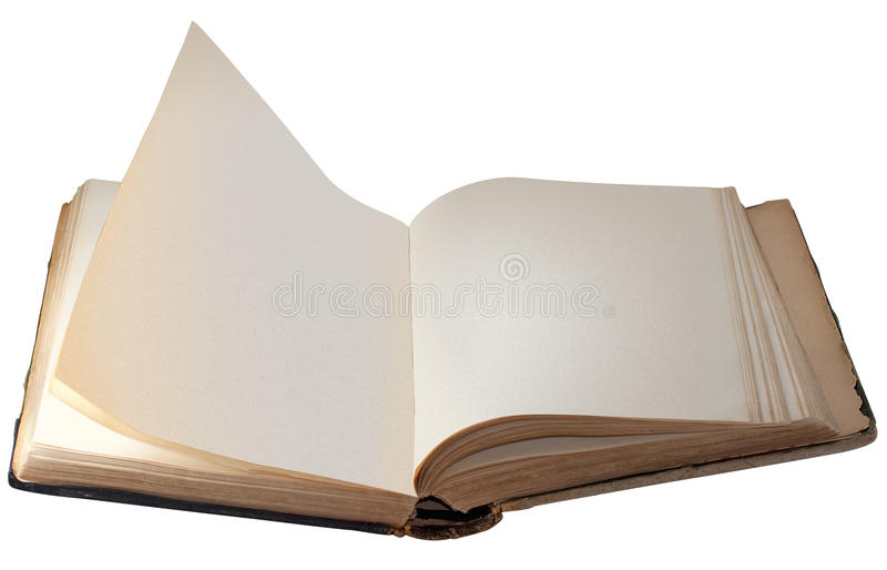 Download Old Book stock image. Image of clear, blank, knowledge - 15565797