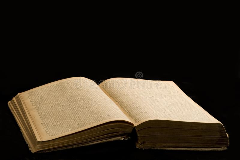 An Old Book stock images