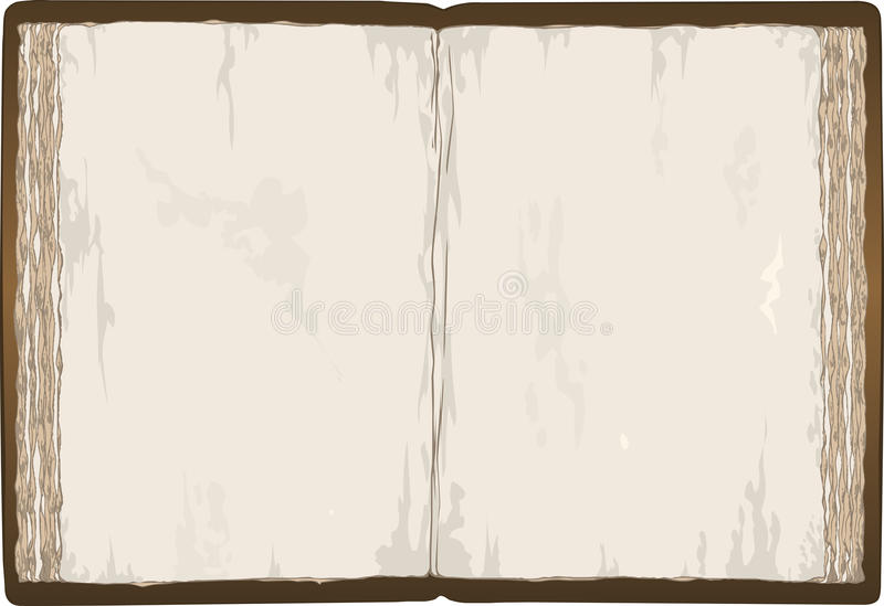 Download Old Book stock vector. Illustration of frame, clipart - 21981058