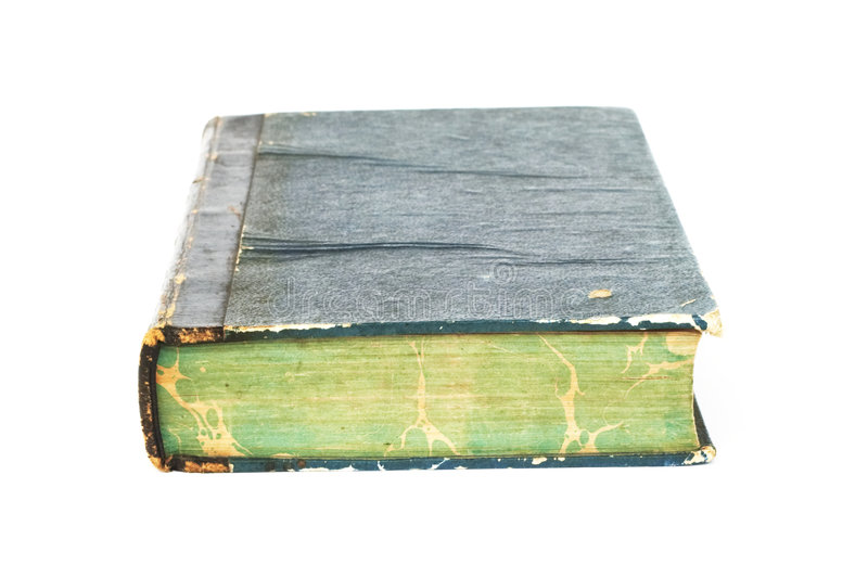 Old book. A very old book royalty free stock photo