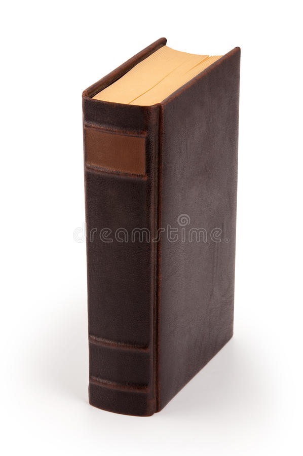 Old book - clipping path royalty free stock photos