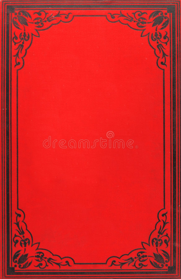 Old book cover royalty free stock photography