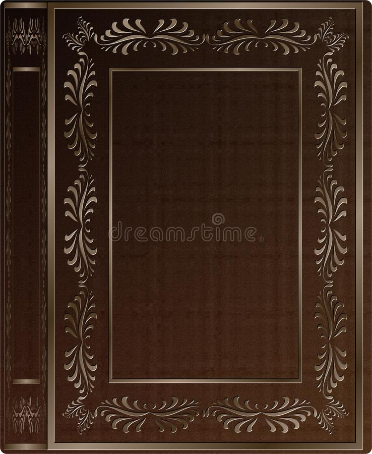 Book Cover Stock Art : Old book cover stock illustration of