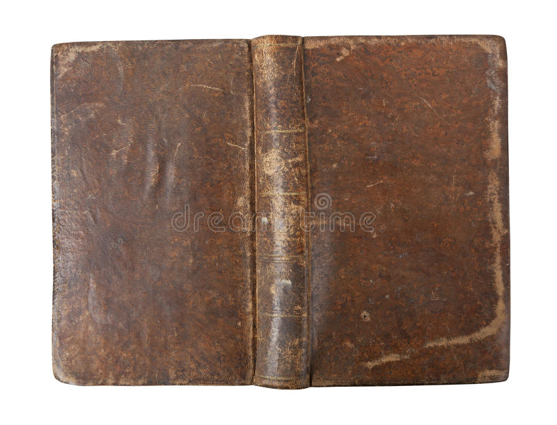 Download Old book cover isolated stock photo. Image of worn, face - 19227080