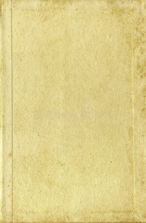 Old book cover paper pages textures stock photography