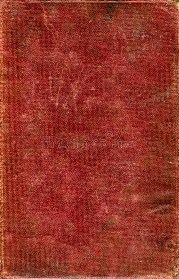 Old book cover royalty free stock photo
