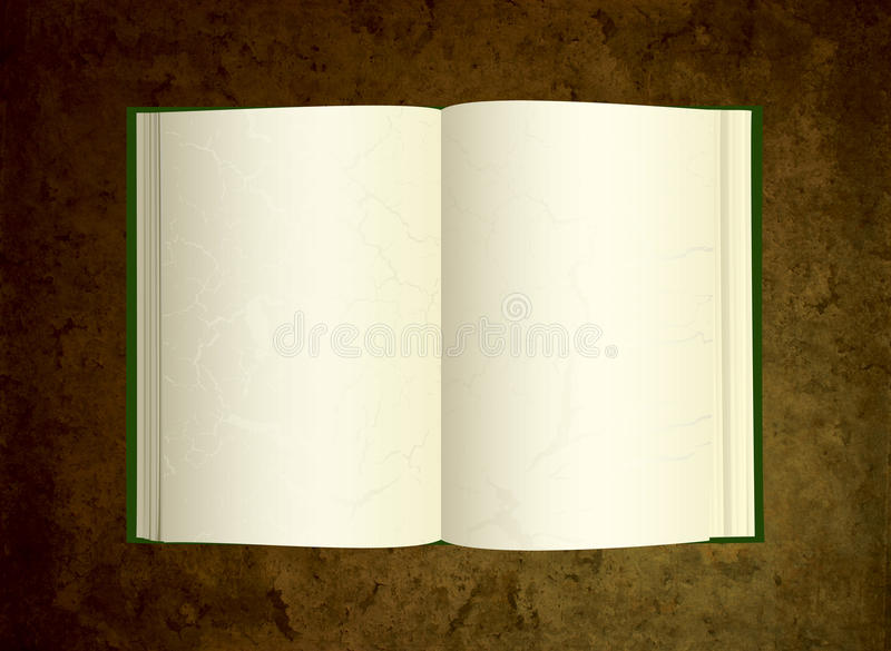 Download Old Book On Grunge Background Stock Image - Image: 13646491