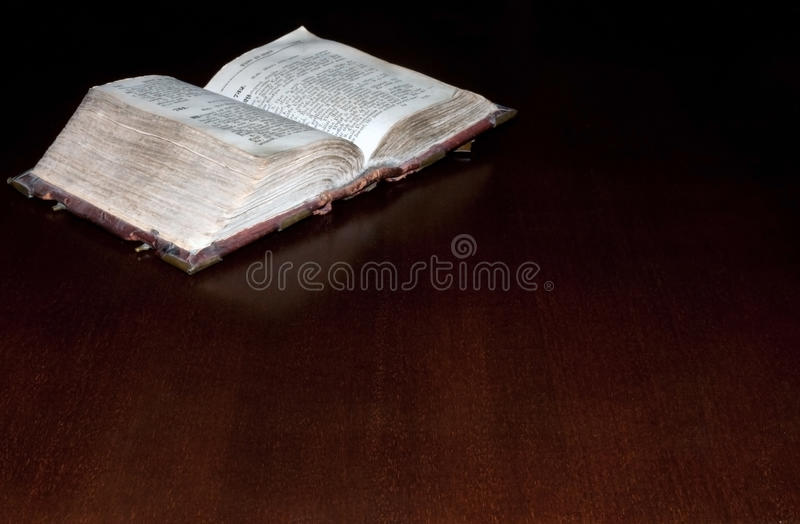 Download Old book: holy Bible stock image. Image of leather, religion - 11901081