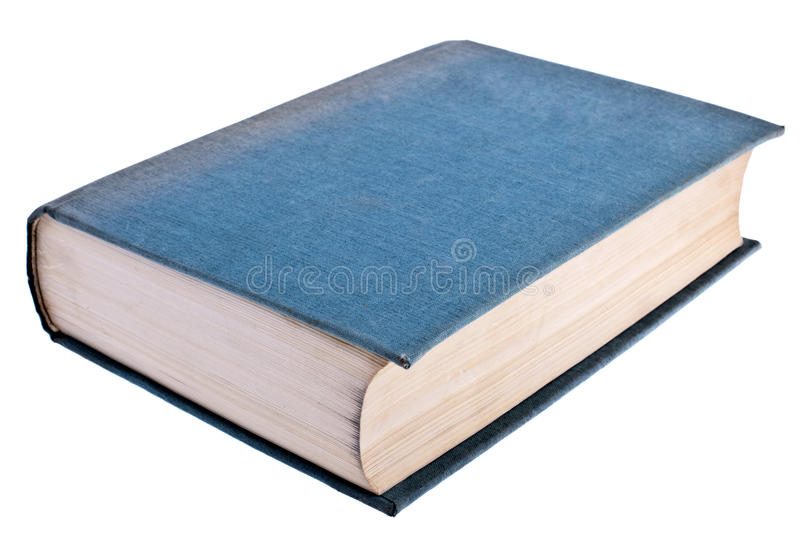 Old Book, isolated royalty free stock images