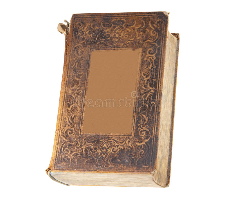 Old book, isolated stock images