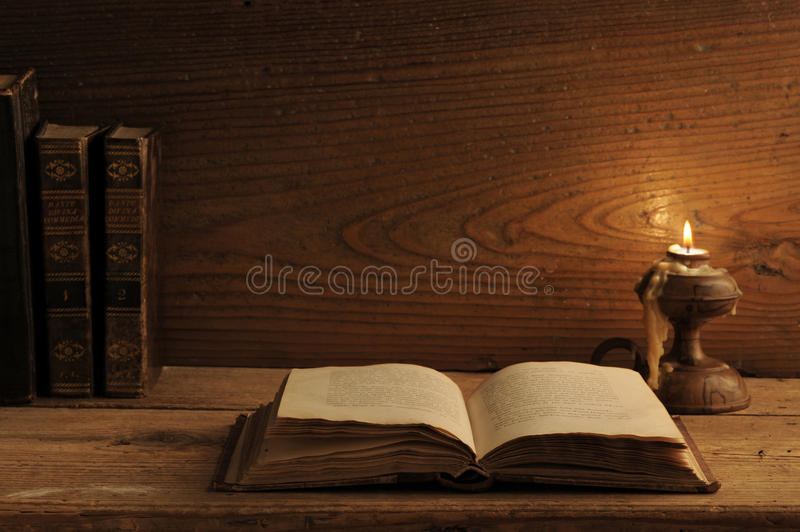 Old book o stock photography