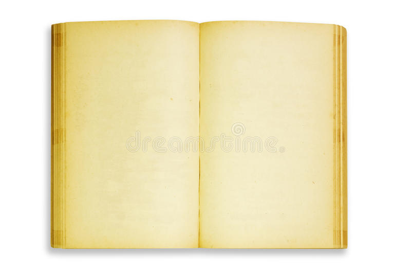 Old book Open royalty free stock images
