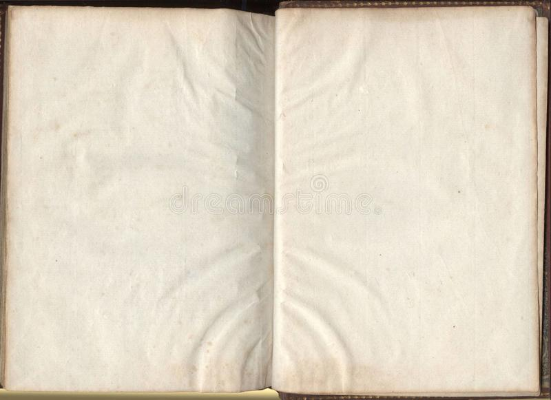 Old book paper texture royalty free stock photo