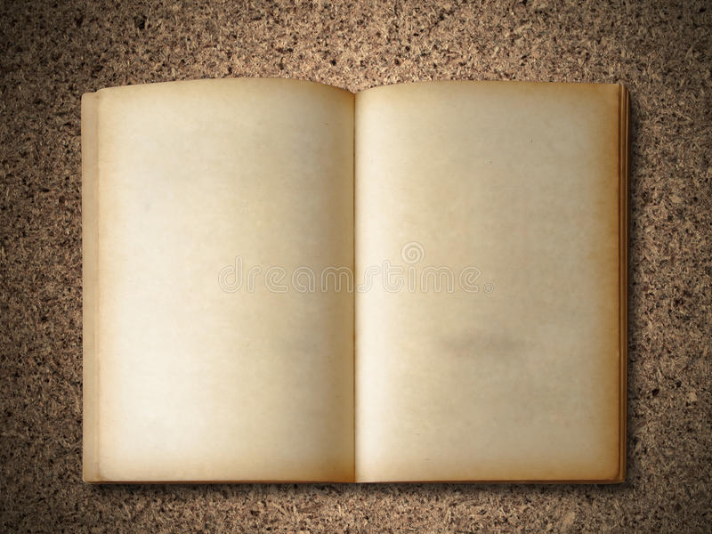 Download Old Book on particle board stock image. Image of pattern - 16104577