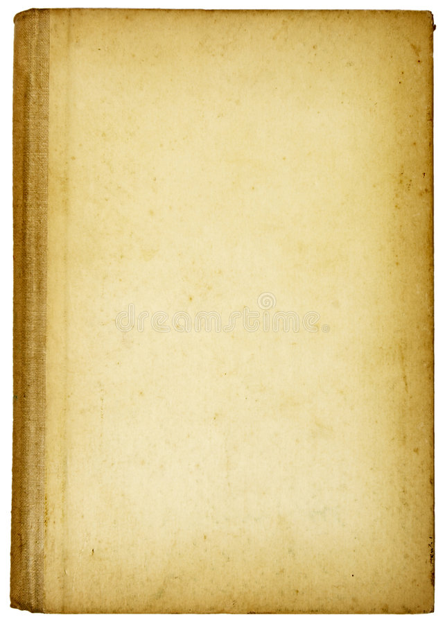 Old book parts stock images