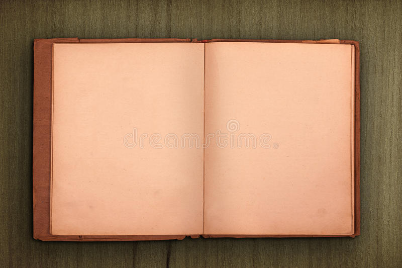 Download Old Book With Wooden Background Royalty Free Stock Images - Image: 36495109