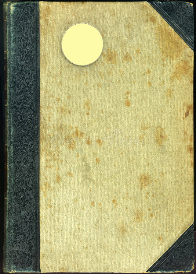 Old bookes cover. Old bookes cover isolated on Black royalty free stock images