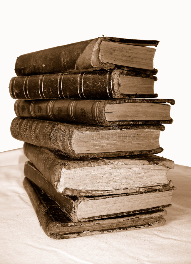 Free Old Books Royalty Free Stock Photography - 1425267