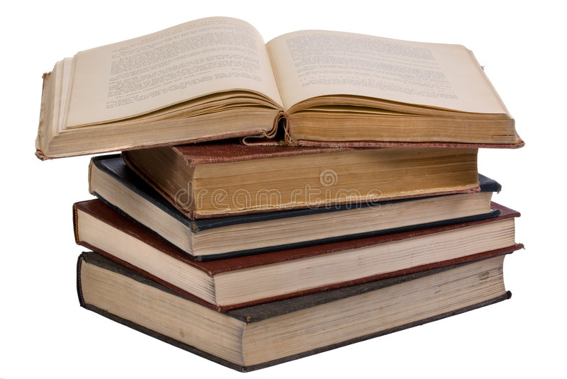 Download Old Books 5 stock image. Image of literacy, book, stack - 1947371