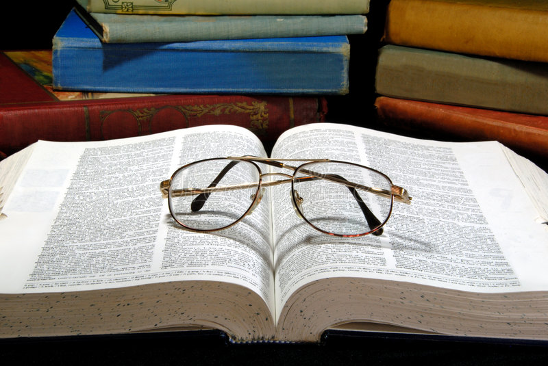 Download Old Books And Glasses stock photo. Image of open, manuscripts - 4383706