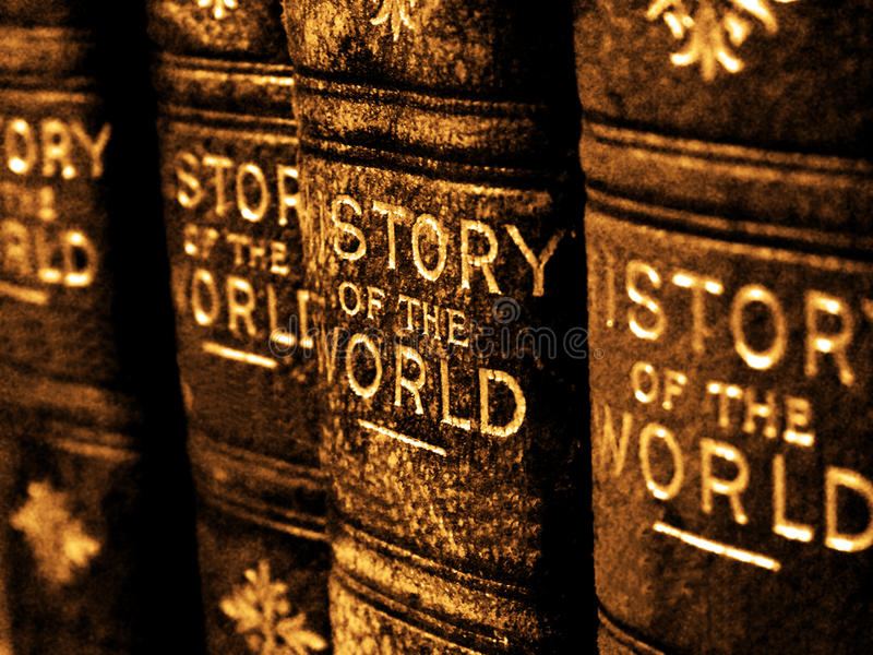 Download Old Books On The History Of The World Stock Photo - Image of library, antique: 69839818