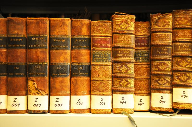 Download Old books in library stock image. Image of search, archive - 15456615