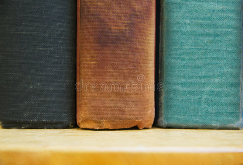 Download Old Books on a Shelf stock photo. Image of style, hardcover - 6392118
