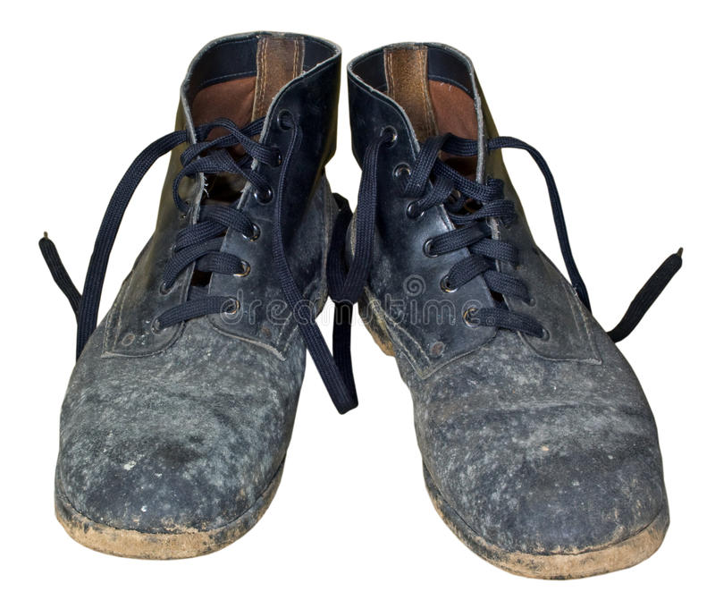 Download Old boots stock photo. Image of feet, muddy, footwear - 21232910