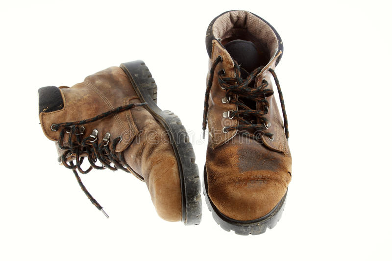 Download Old boots stock photo. Image of weathered, nobody, work - 26232940