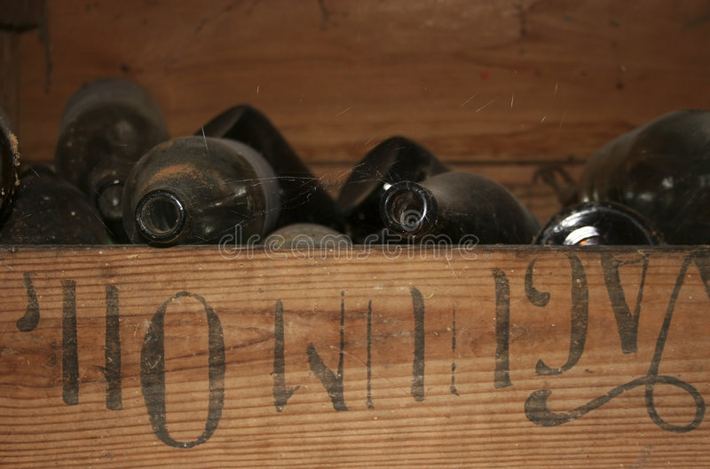 Download Old bottles stock photo. Image of wood, dusty, texture - 878912