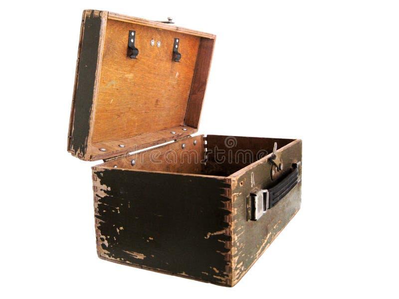 Old box royalty free stock photo