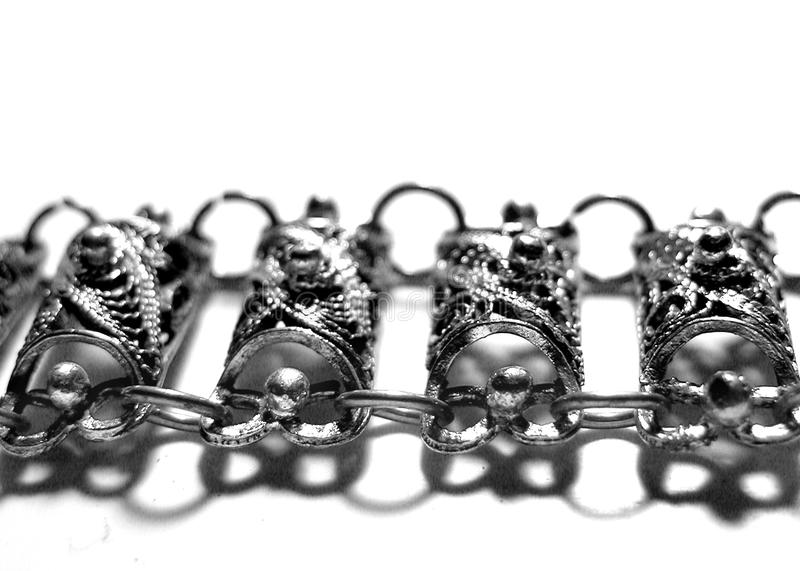Download Old Bracelet 2 stock image. Image of silver, black, jewelry - 27667