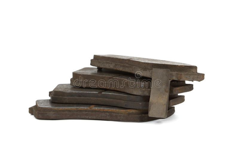 Download Old Brake Pads Disk Brake (isolated) Stock Photo - Image: 24098154