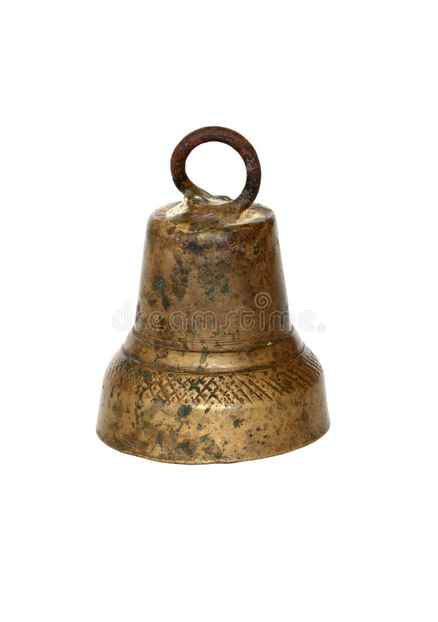 Free Old Brass Bell Royalty Free Stock Images - 12696199
