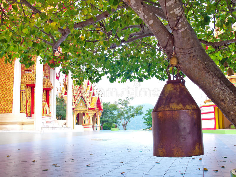 Download Old brass bell stock image. Image of tree, church, bell - 27546861