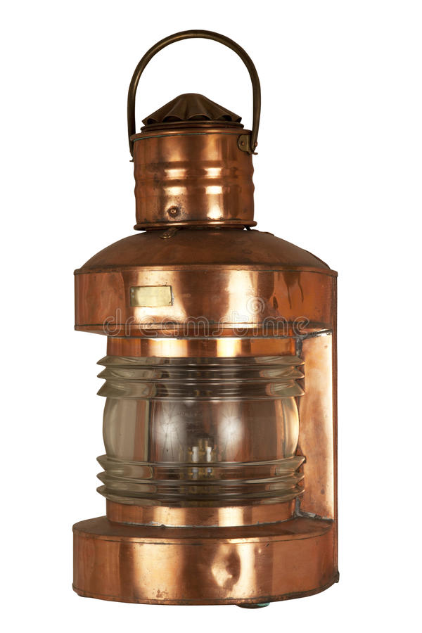 Free Old Brassy Lantern Royalty Free Stock Photos - 18105298