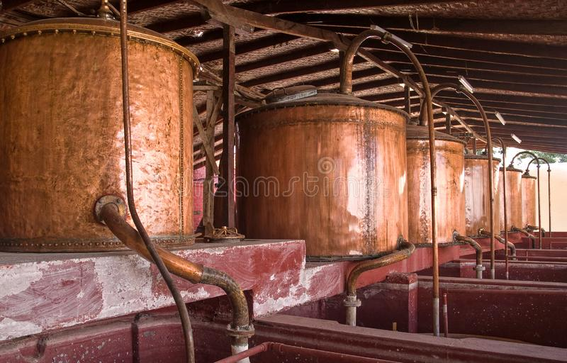 Old Brewery In Ica Stock Photos