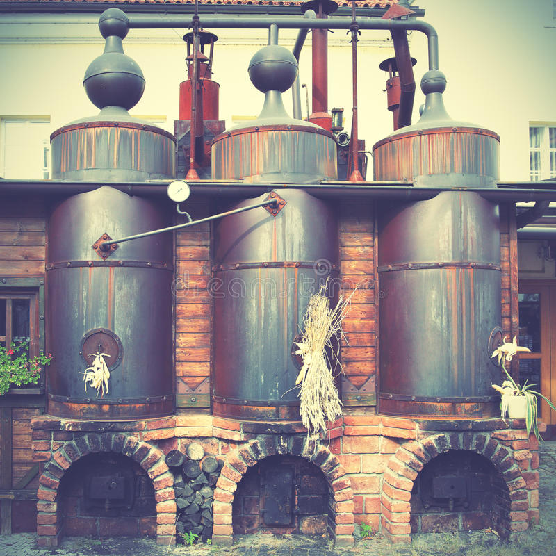 Old brewery royalty free stock images