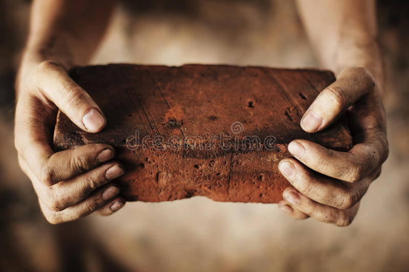 Download Old Brick stock image. Image of hard, dirty, weathered - 11262545