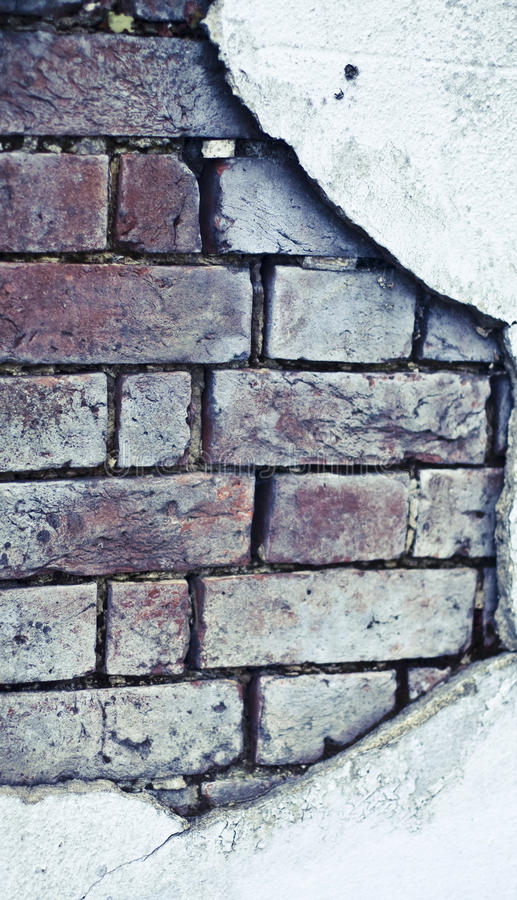Download Old brick broken  wall stock image. Image of coming, background - 10062125