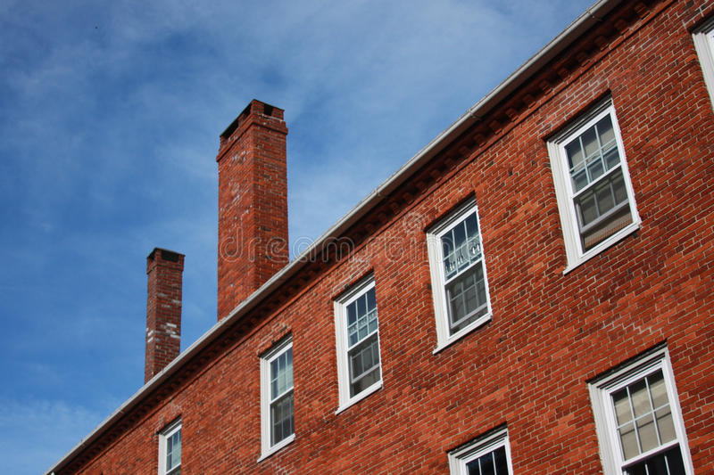 Old Brick Building stock photography