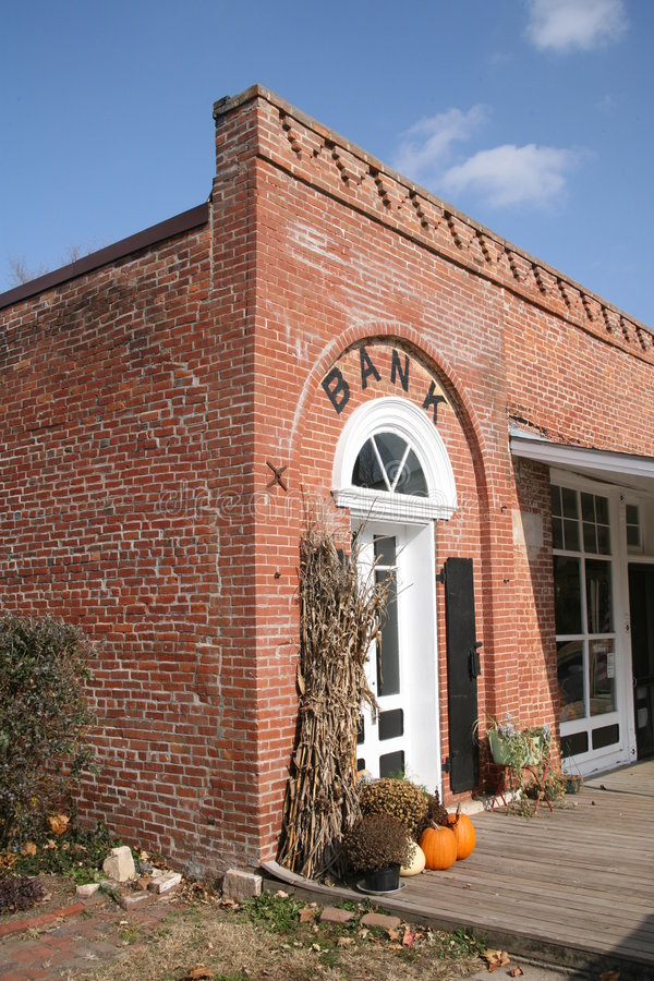 Old Brick Building stock image