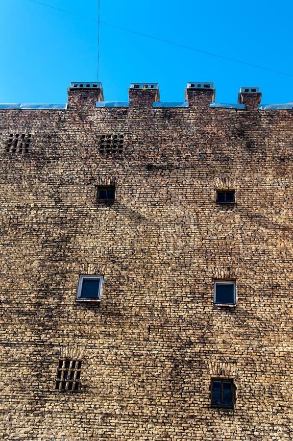 Old brick building royalty free stock photos