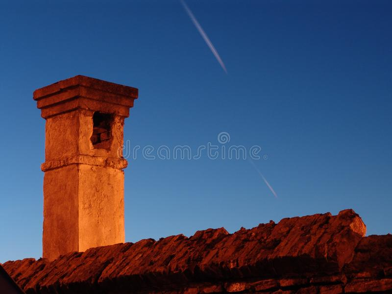 Download Old brick chimney stock photo. Image of heat, architecture - 60502